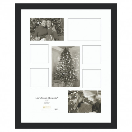 Life's Great Moments Collage Frame - 16x20 Black