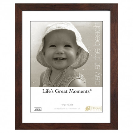 Life's Great Moments Collage Frame - 11x14, 8x10 Matte Espresso