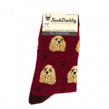 Dog Lover Socks - Cocker Spaniel