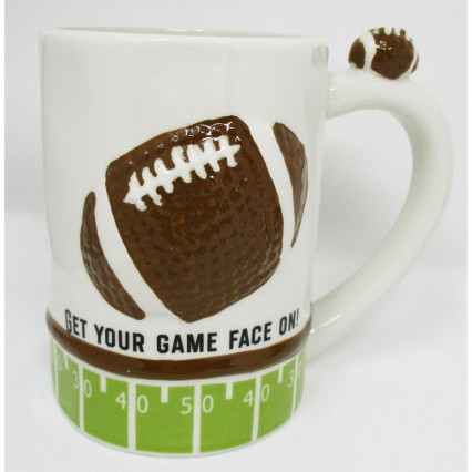 Football Decorative Ceramic Mug