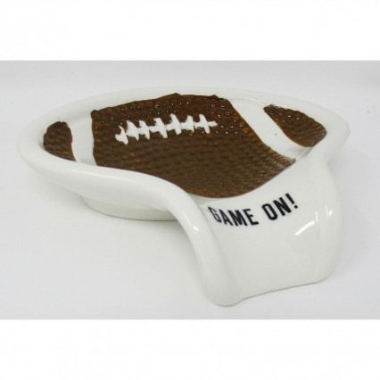 Football Decorative Ceramic Spoon Rest