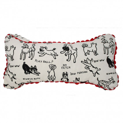 Dog Person Accent Throw Pillow