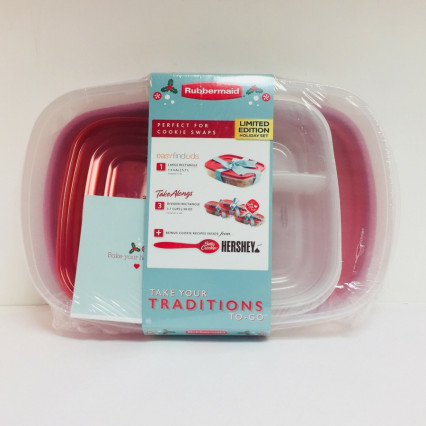 Rubbermaid 8 Piece Limited Edition Holiday Set