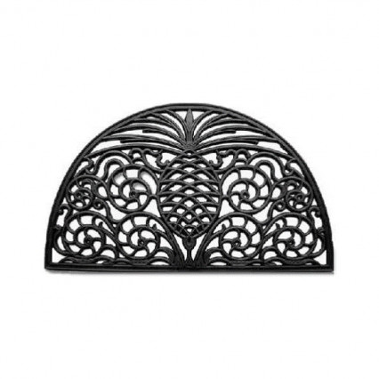Pineapple Grandeur Rubber Doormat