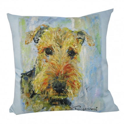 Pet Love Airdale Riley Indoor Outdoor Accent Pillow