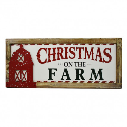 Christmas on the Farm Hanging Sign