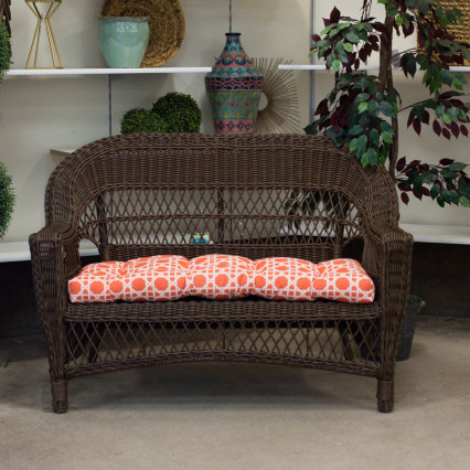 Aruba Cedar Loveseat by Erwin & Sons
