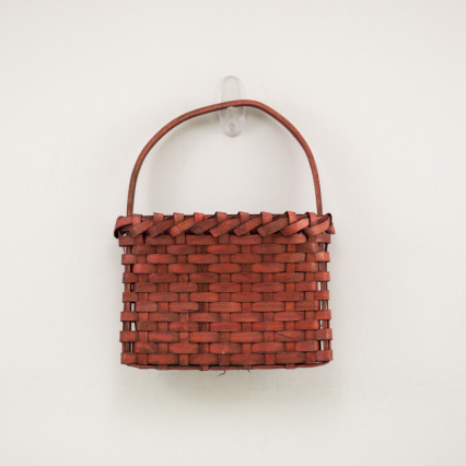 Red Wall Basket