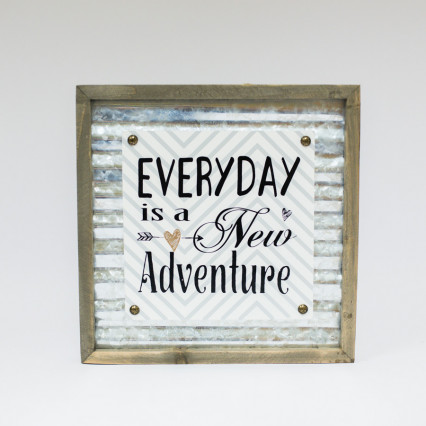 Everyday Adventure Sign