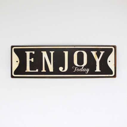 Enjoy Tin Sign