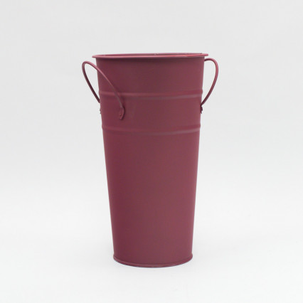 French Bucket - Tall Burgundy