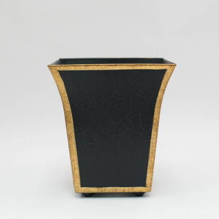 Metal Planter - Black