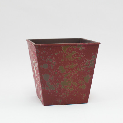 Splatter Planter - Red