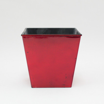 Plastic Planter - Red