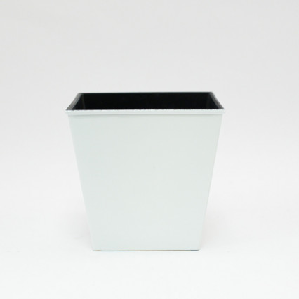 Plastic Planter - White
