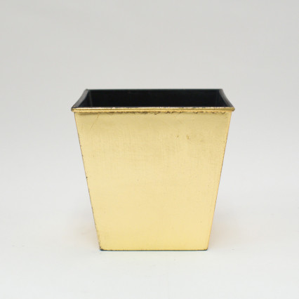 Plastic Planter - Gold