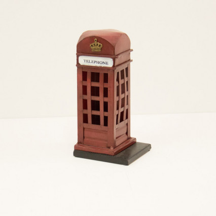Telephone Booth Bookend