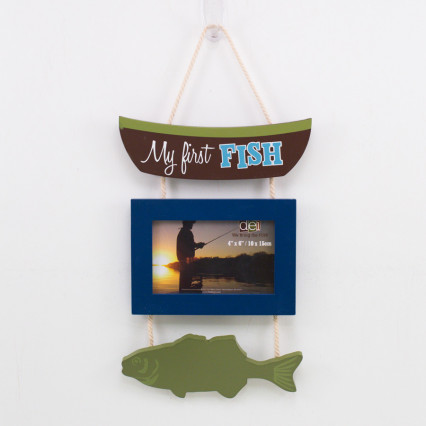 Fish Hanging Frame - My First Fish