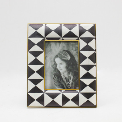 Faux Leather Photo Frame - 5x7