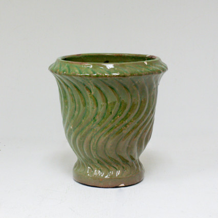 Ceramic Green Planter