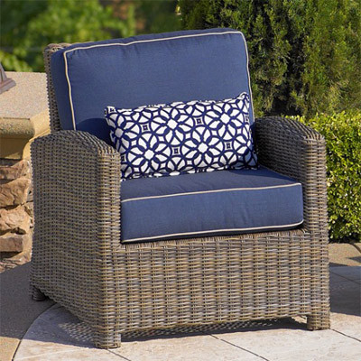 NorthCape NC275C Bainbridge Outdoor Resin Wicker Chair