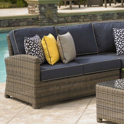 NorthCape NC275LL Bainbridge Outdoor Sectional Left Loveseat