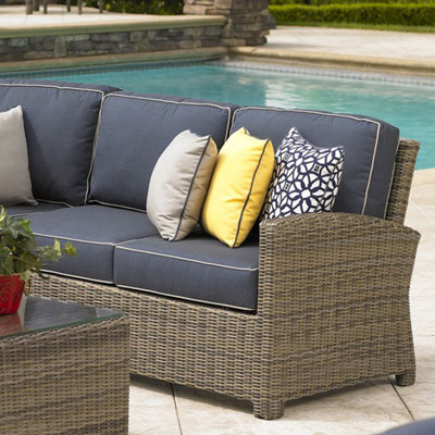 NorthCape NC275RL Bainbridge Outdoor Sectional Right Loveseat