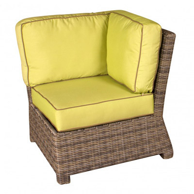 NorthCape Bainbridge Outdoor Resin Wicker Sectional Corner