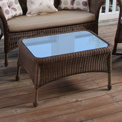 Darby Coffee Table w Glass by NorthCape