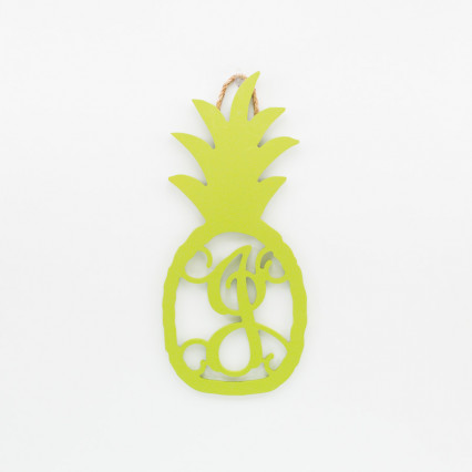 Pineapple Monogram J