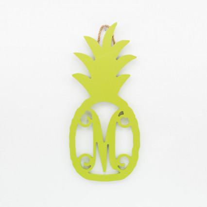 Pineapple Monogram M