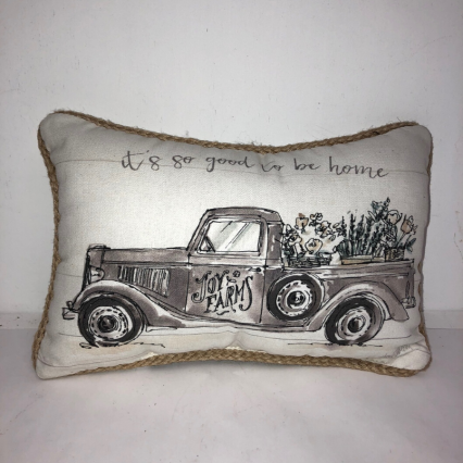 """Good to be Home"" Indoor Pillow"