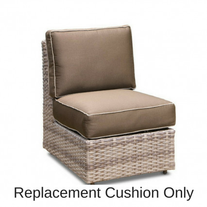 Biscayne Armless Chair Cushion