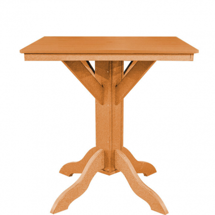 Bar Height Square Table - Poly Furniture USA