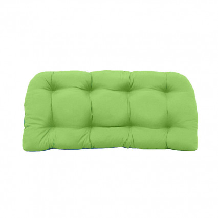 Settee Cushion - Veranda Citrus Green