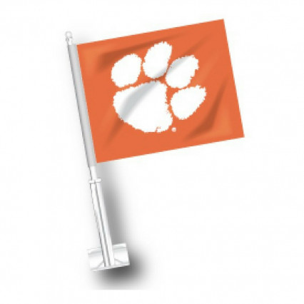 Clemson Tigers Car Flag