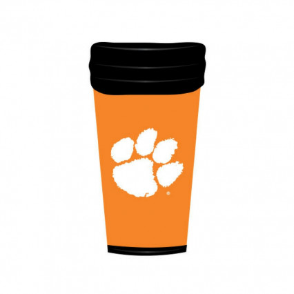 Clemson Tigers 18oz Travel Mug - Orange