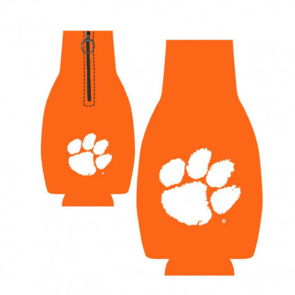 Clemson Tigers Orange Bottle Hugger