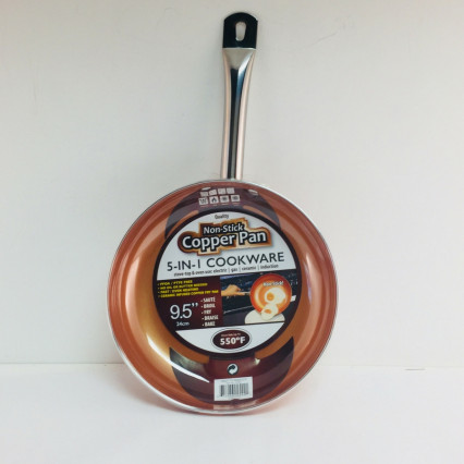 Ceramic Non-Stick Copper 9.5 Round Frying Pan