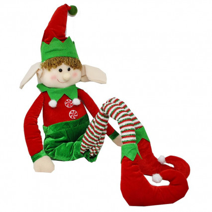 Christmas Elf Poseable Arms and Legs