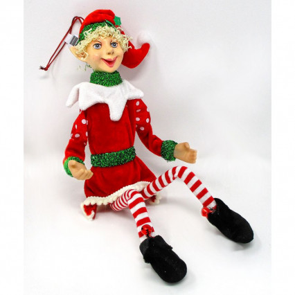 Jolly Elf Ornament