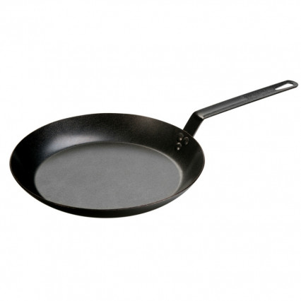 Lodge CRS12 12 inch Seasoned Carbon Steel Skillet