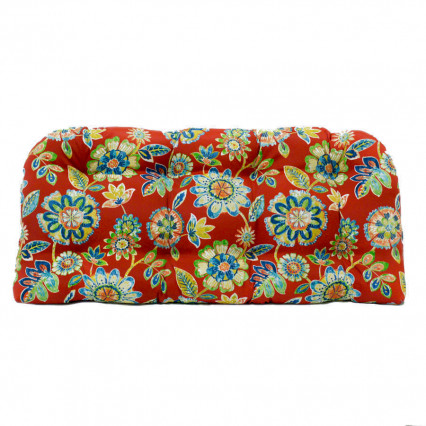 Settee Cushion - Daelyn Cherry