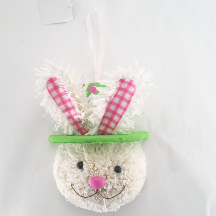 Darice Wall Easter Head With Hat