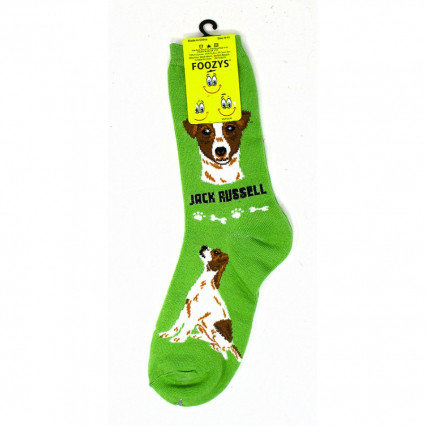 Dog Lover Socks - Jack Russell Terrier