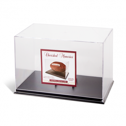 Cherished Memories Football Display Case