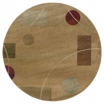 Generations 1504G Round Indoor Rug