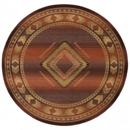Generations 1506C Round Indoor Rug