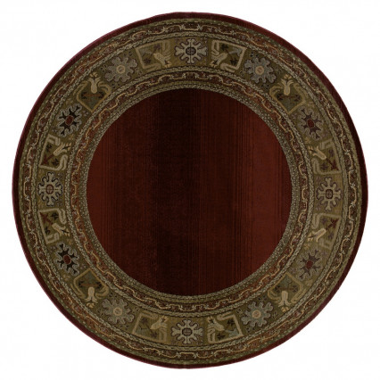 Generations 3436R Round Indoor Rug