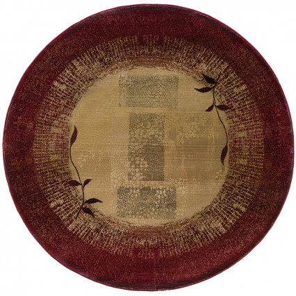 Generations 544X Round Indoor Rug